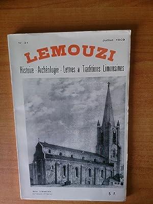 LEMOUZI histoire-archéologie-lettres & traditions limousines juillet 1969: collectif