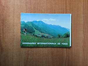 SEMINAIRES INTERNATIONAUX DE YOGA de A. VAN: André VAN LYSEBETH