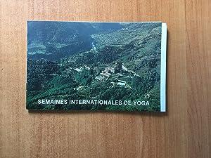 SEMAINES INTERNATIONALES DE YOGA de A. VAN: André VAN LYSEBETH