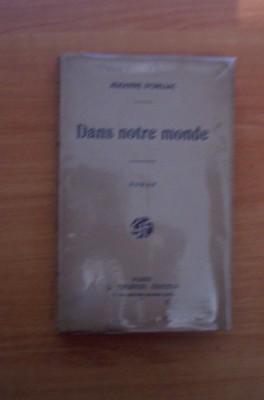 DANS NOTRE MONDE: Jehanne d'ORLIAC