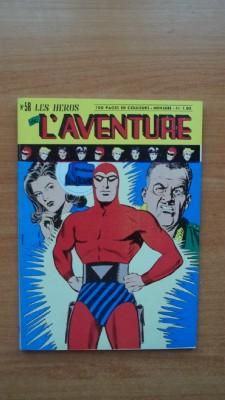 LES HEROS DE L'AVENTURE mensuel n° 58: FALK Lee et