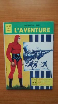 HEROS DE L'AVENTURE mensuel n° 23: FALK Lee et