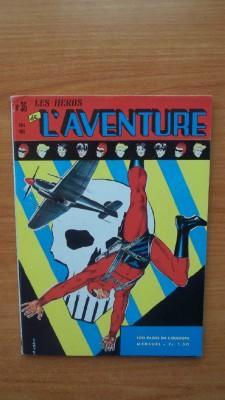 LES HEROS DE L'AVENTURE mensuel n° 36: FALK Lee et