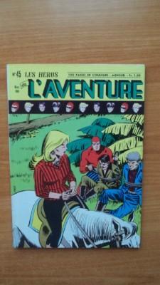 LES HEROS DE L'AVENTURE mensuel n° 45: FALK Lee et