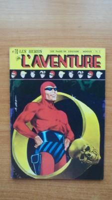 LES HEROS DE L'AVENTURE mensuel n° 70: FALK Lee et