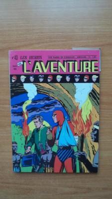 LES HEROS DE L'AVENTURE mensuel n° 43: FALK Lee et