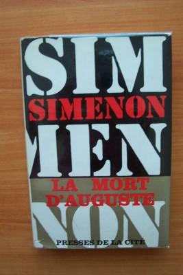 LA MORT D'AUGUSTE: Georges SIMENON