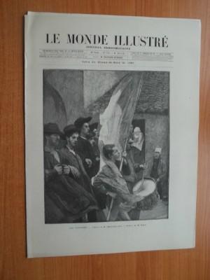 LE MONDE ILLUSTRE journal hebdomadaire 35è année: collectif
