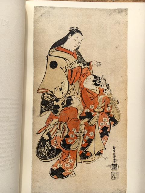 Figure Prints of Old Japan. A Pictorial Pageant of Actors and Courtesans of the Eighteenth Century Grabhorn, Marjorie Fine Hardcover