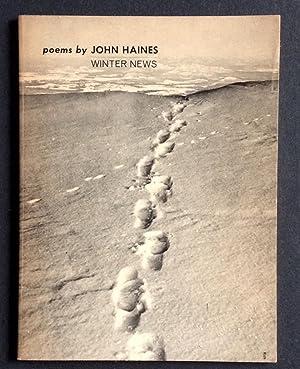 Winter News: John Haines