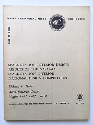 Space station interior design: Haines, Richard F.
