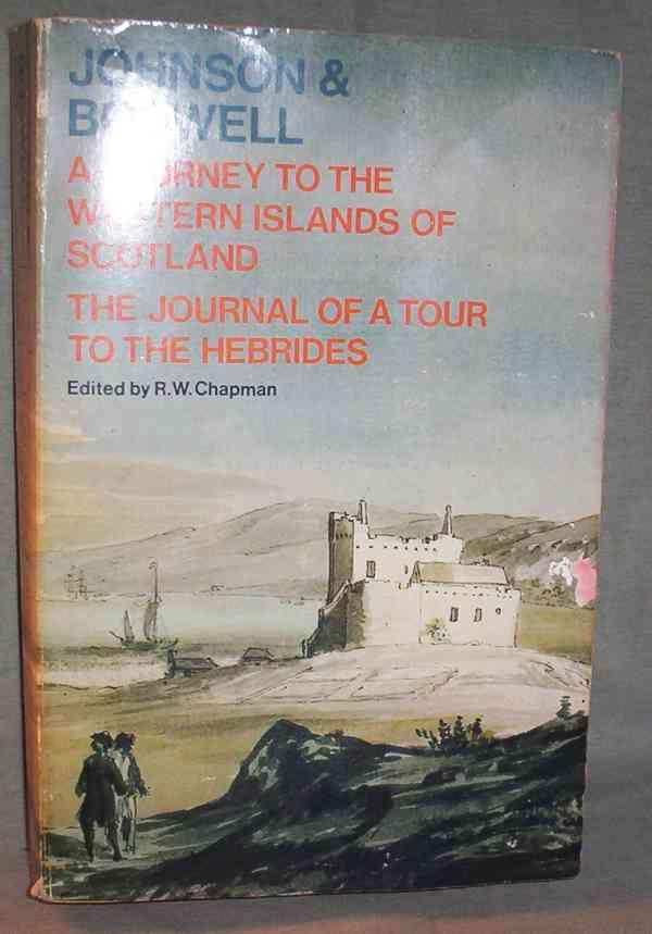 Image for Johnson's Journey to the Western Islands of Scotland and Boswell's Journal of a Tour to the Hebrides with Samuel Johnson (Oxford Paperbacks)