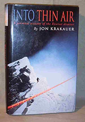 Into Thin Air : A Personal Account: Jon Krakauer