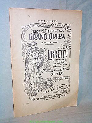 Opera Journeys Libretto Series