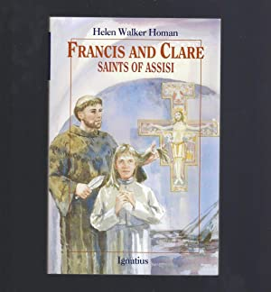 Francis and Clare Saints of Assisi (VG) (Vision Book Series)