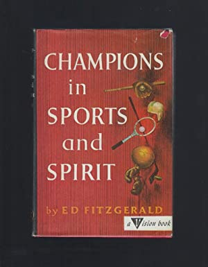 Champions in Sports and Spirit Vision Books HB/DJ