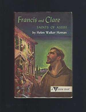 Francis and Clare Saints of Assisi Vision Books #15 HB/DJ