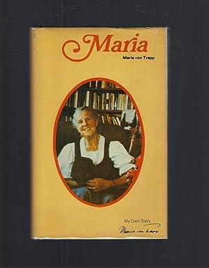 Signed By Author Maria Von Trapp, My: Maria von Trapp