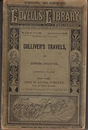 Gulliver's Travels. Lovell's Library Vol. 2, No.: Gulliver, Lemuel [Jonathan
