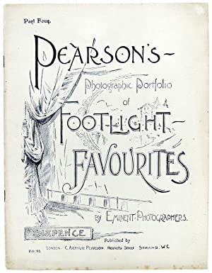 Pearson's Photographic Portfolio of Footlight Favourites by Eminent Photographers. Part Four only