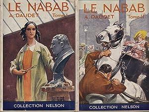 Le Nabab Moeurs Parisiennes 2 Volumes: Daudet, Alphonse