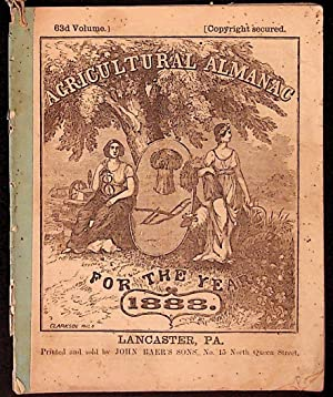 Agricultural Almanac for the Year of Our Lord 1888