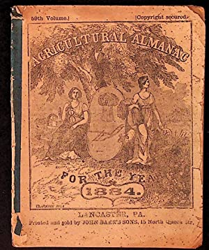 Agricultural Almanac for the Year of Our Lord 1884