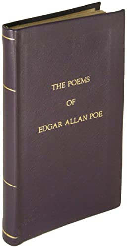The Poems of Edgar Allan Poe. With an Essay on His Poetry by Andrew Lang