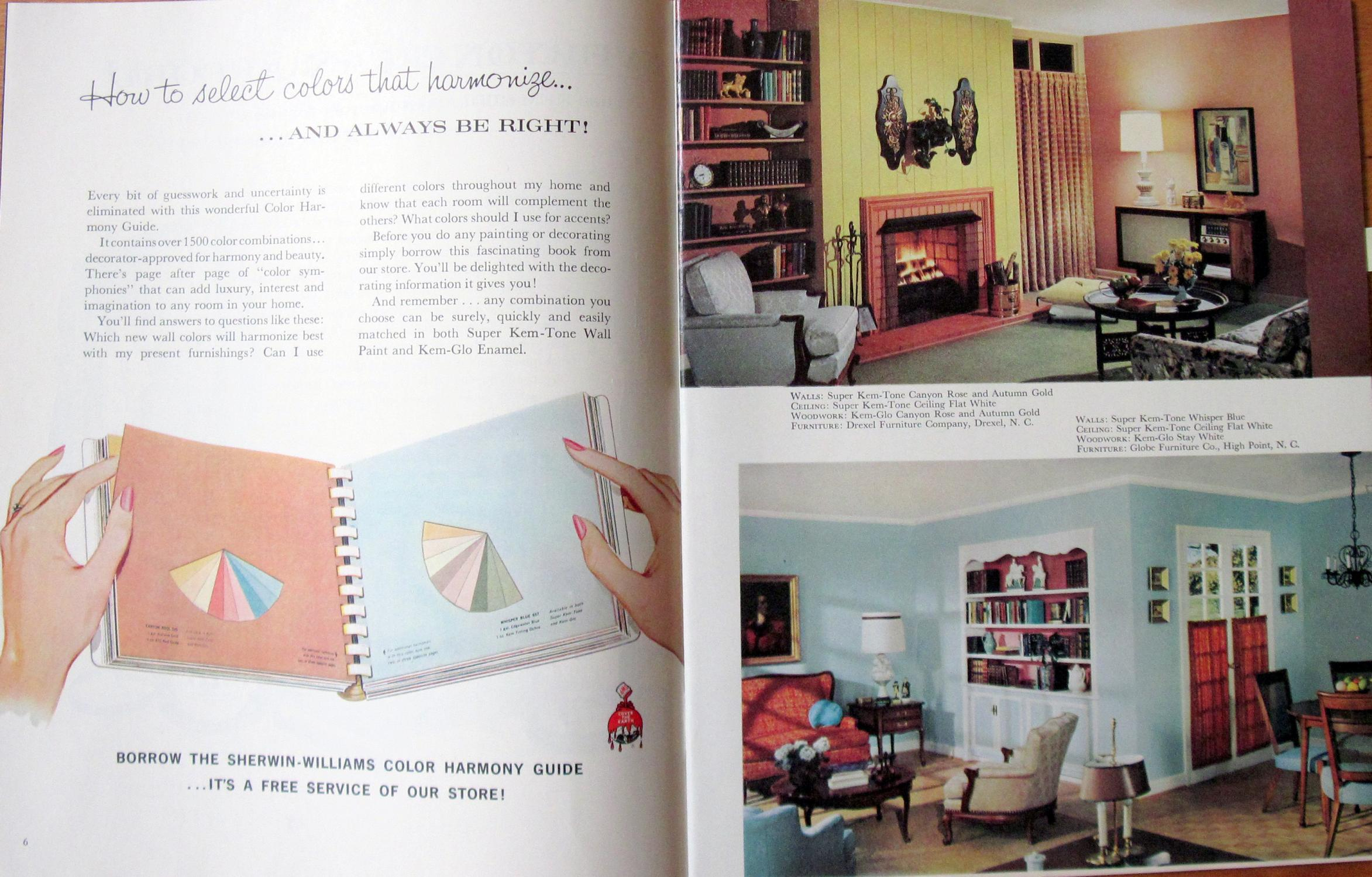 Sherwin-Williams Home Decorator. Your Painting Economy Guide 1960 by ...