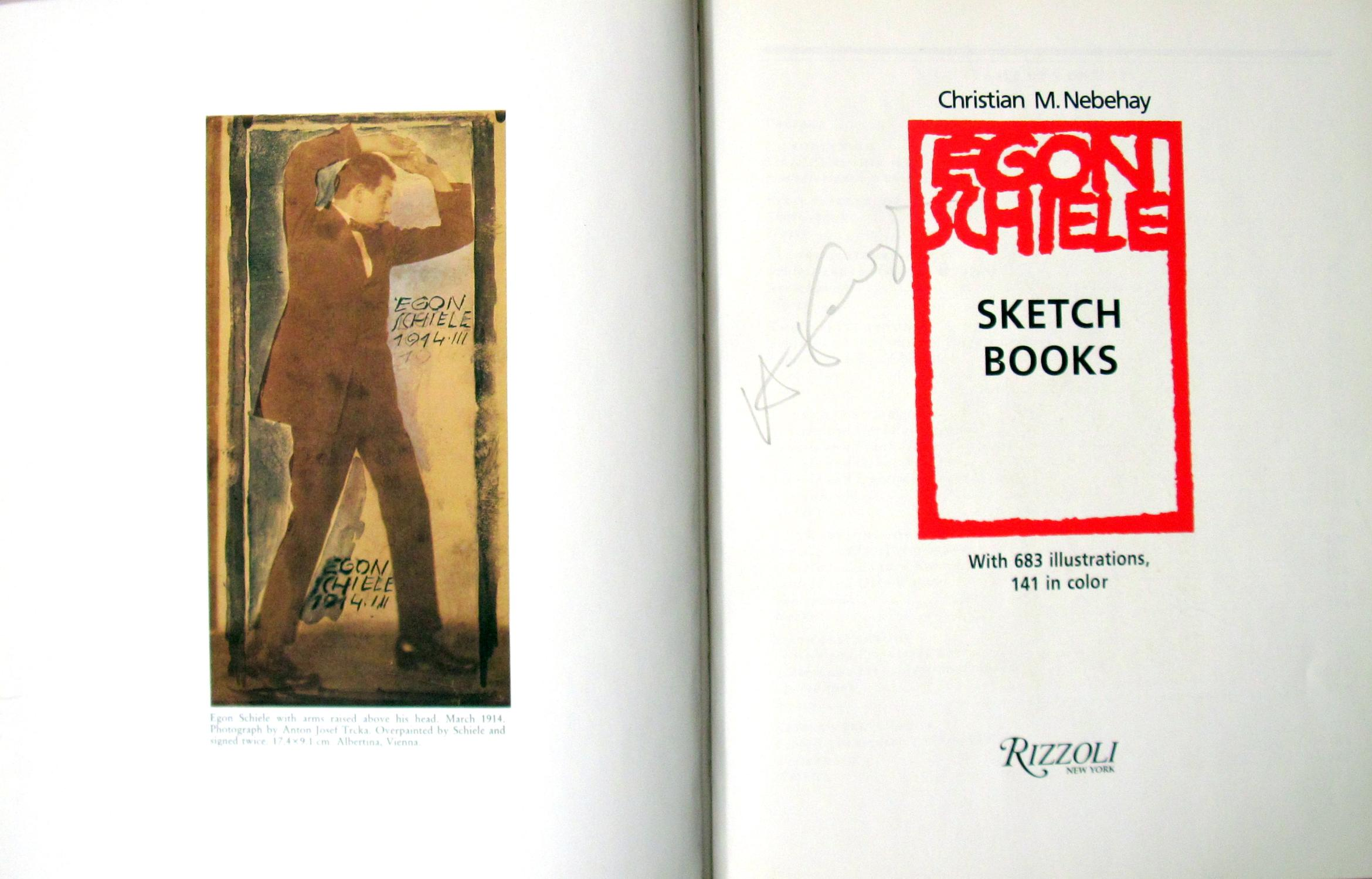 Egon Schiele Sketch Books  by Nebehay, Christian M  (Signed