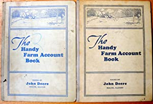 The Handy Farm Account Book. 4 Different Copies With Entries From the 1930'S.