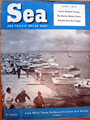 Sea and Pacific Motor Boat. June 1955
