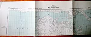 Fold-Out Topographical Map. Melville North N.W. 68/88. National Topographic Series