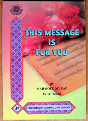 This Message is for You: Murad, Mahmoud
