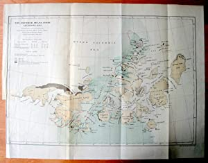 Lot of 3 Colour Maps of the Arctic from