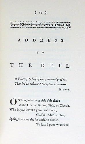 Robert Burns Poems 1786 and 1787: Robert Burns.