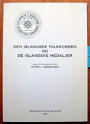 Den Islandske Falkeorden Og De Islandske Medaljer.: Jörgensen, Peter J.