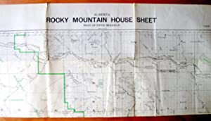 Alberta Rocky Mountain House Sheet. West of the Fifth Meridian, Sectional Map