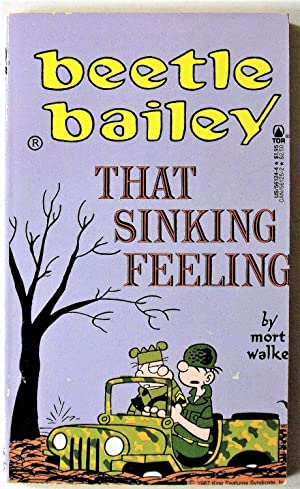 Beetle Bailey. That Sinking Feeling