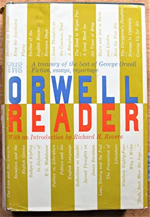 the orwell reader fiction essays and reportage Free 2-day shipping on qualified orders over $35 buy the orwell reader : fiction, essays, and reportage at walmartcom.