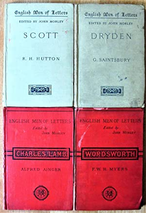 Lot of Four English Men of Letters: Ainger, Alfred, R.H.