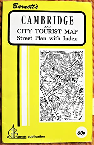 Barnett's Cambridge and City Tourist Map: Street Plan with Index.
