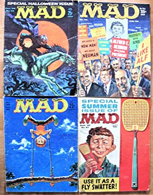 Mad Magazine. 8 Issues From 1960. Includes: Nos. 52 January, 53 March, 54 April, 55 June, 56 July...