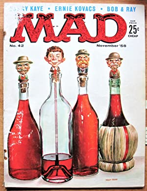Mad. Magazine. Number 42 November 1958