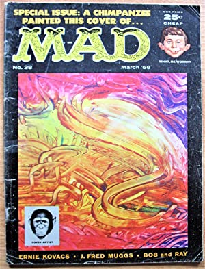 Mad Magazine. Number 38 March 1958