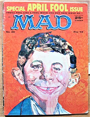 Mad Magazine. Number 39 May 1958