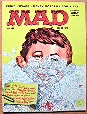 Mad Magazine. Number 41 September 1958