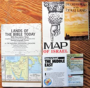 Maps: The Middle East. Lot of 8