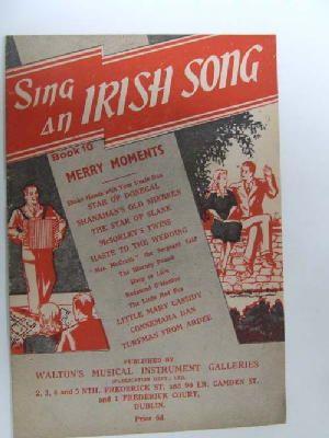 Sing an Irish Song, Book 10 Merry