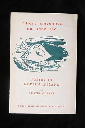 Poetry in modern Ireland: Austin Clarke